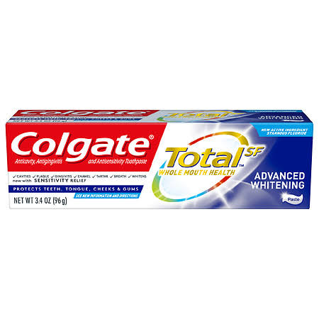 Colgate Total Whole Mouth Whitening Toothpaste - 4.8oz