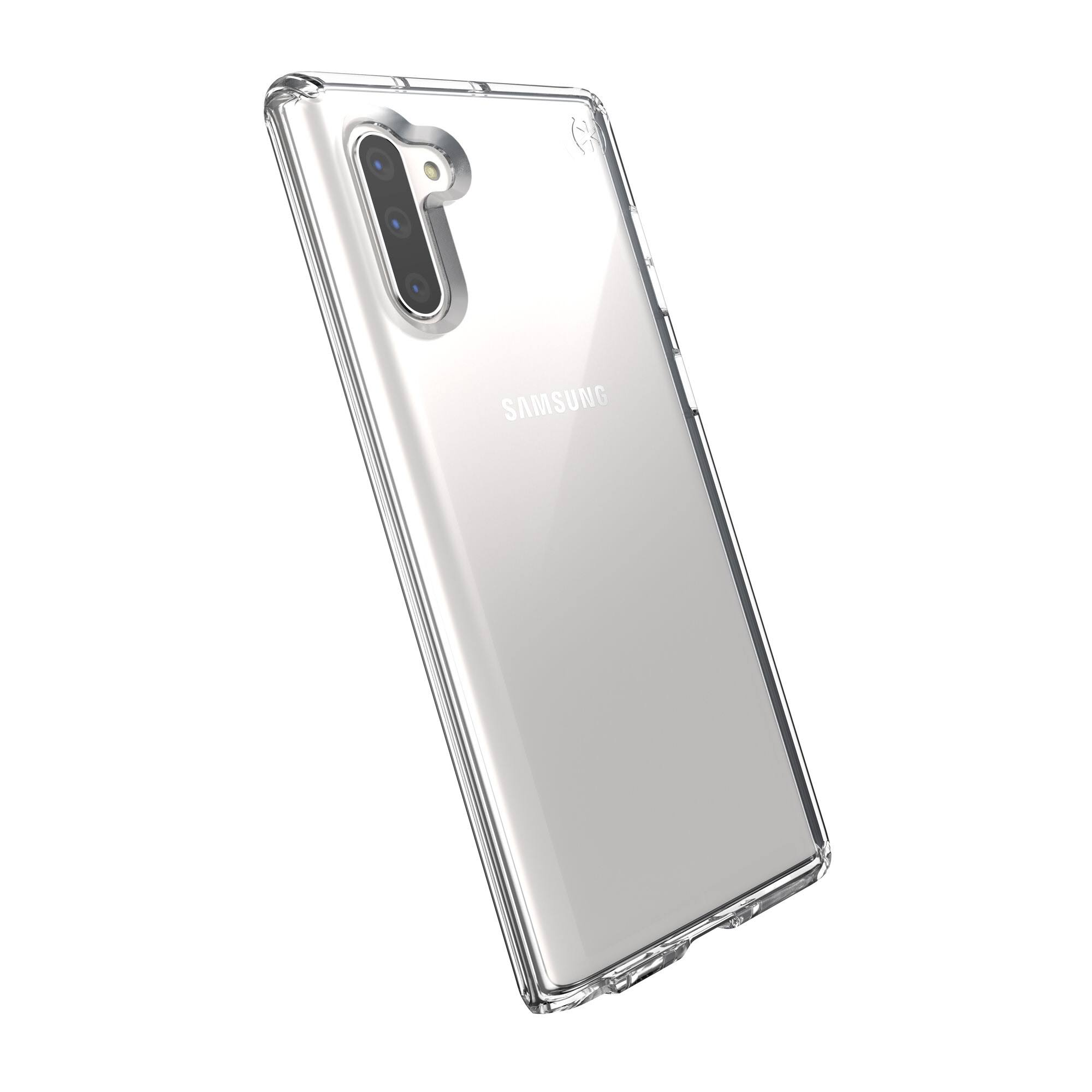 Speck Presidio Stay Clear Cover for Galaxy Note10 - Clear