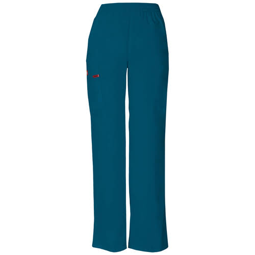 Dickies Women's EDS Signature Pull-On Cargo Pant - Caribbean Blue, XX-Small