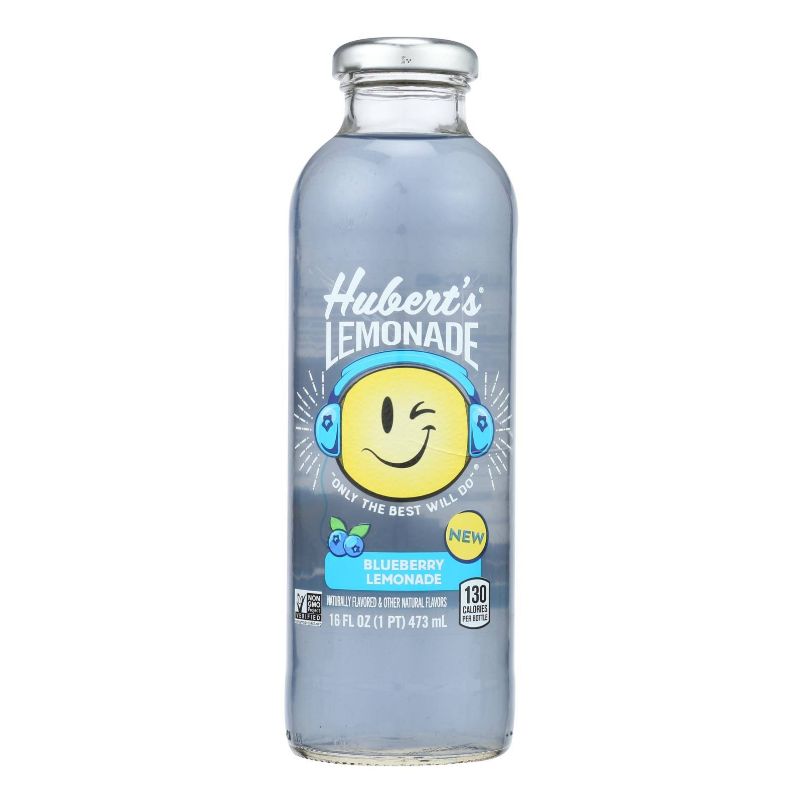 Hubert's - Lemonade Blueberry - Case of 12 - 16 FZ