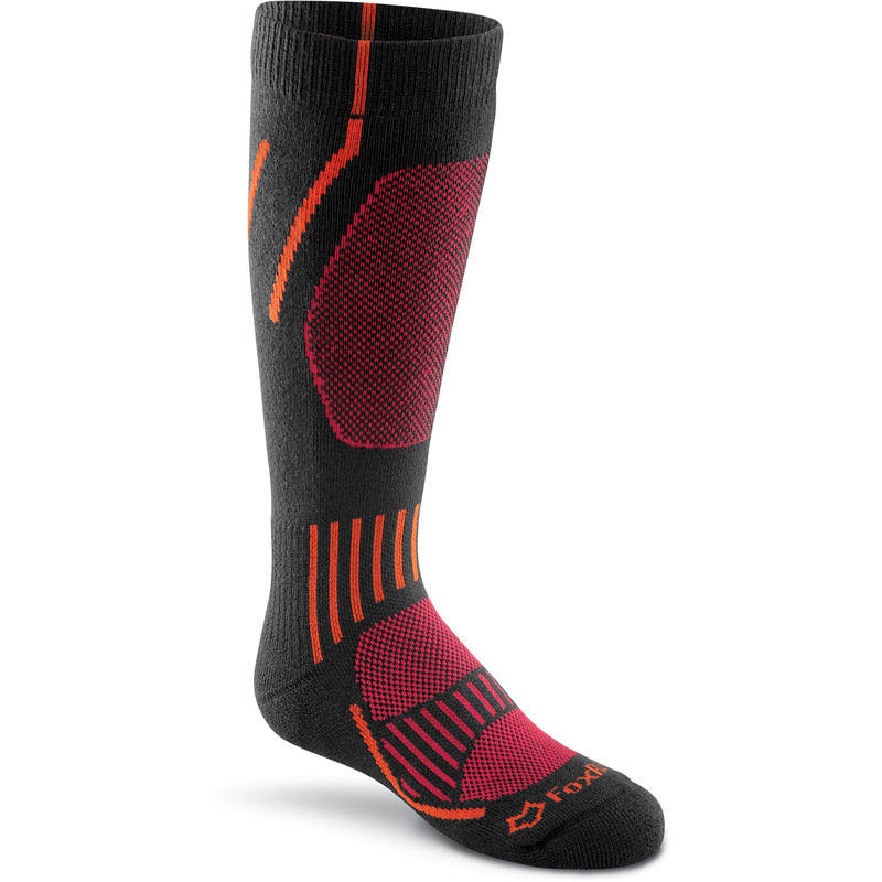 Fox River Kids Boreal Medium Weight Over The Calf Socks Black / Small