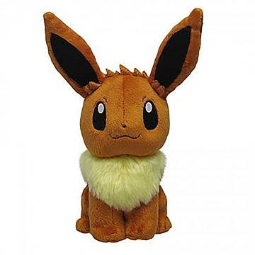Sanei Pokemon All Star Collection Plush Doll - Eevee