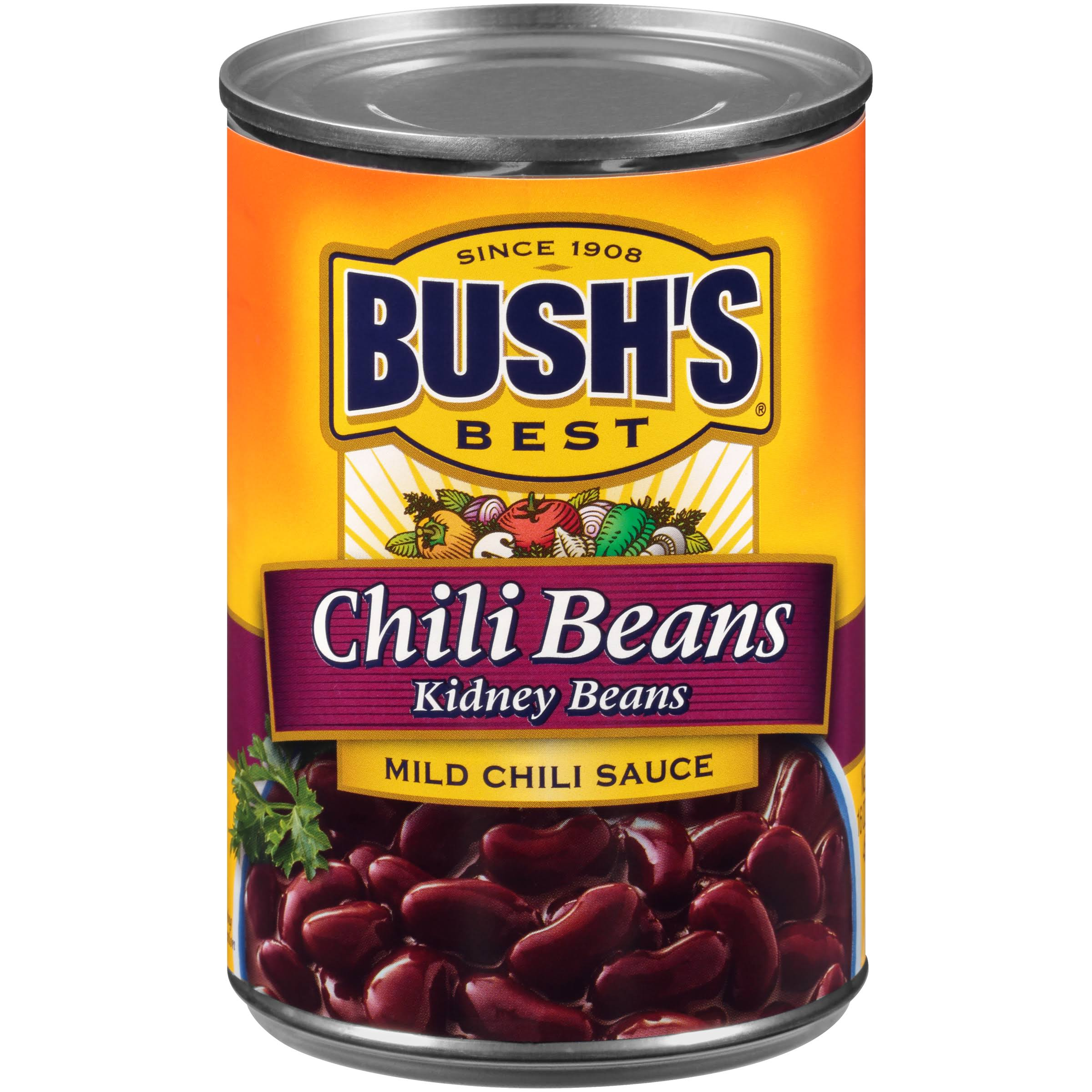 Bush's Best Mild Kidney Chili Beans - 16oz