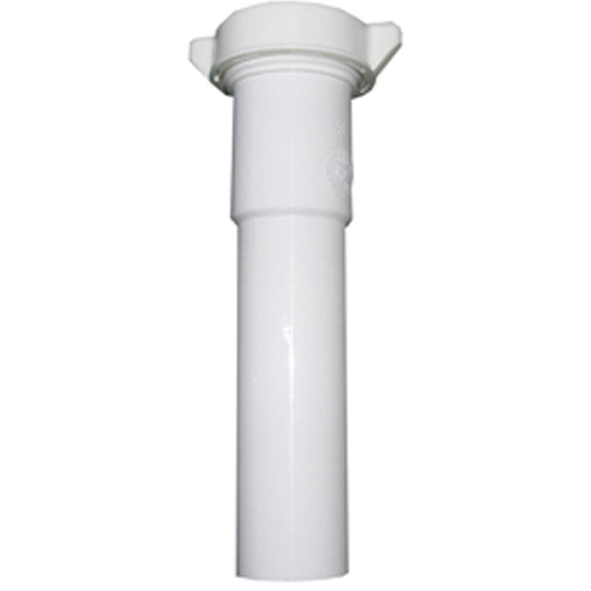 "Larsen Supply Lavatory Extension - White, 1.25"" x 12"""