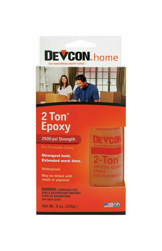 Devcon Home 2-Ton Clear Epoxy