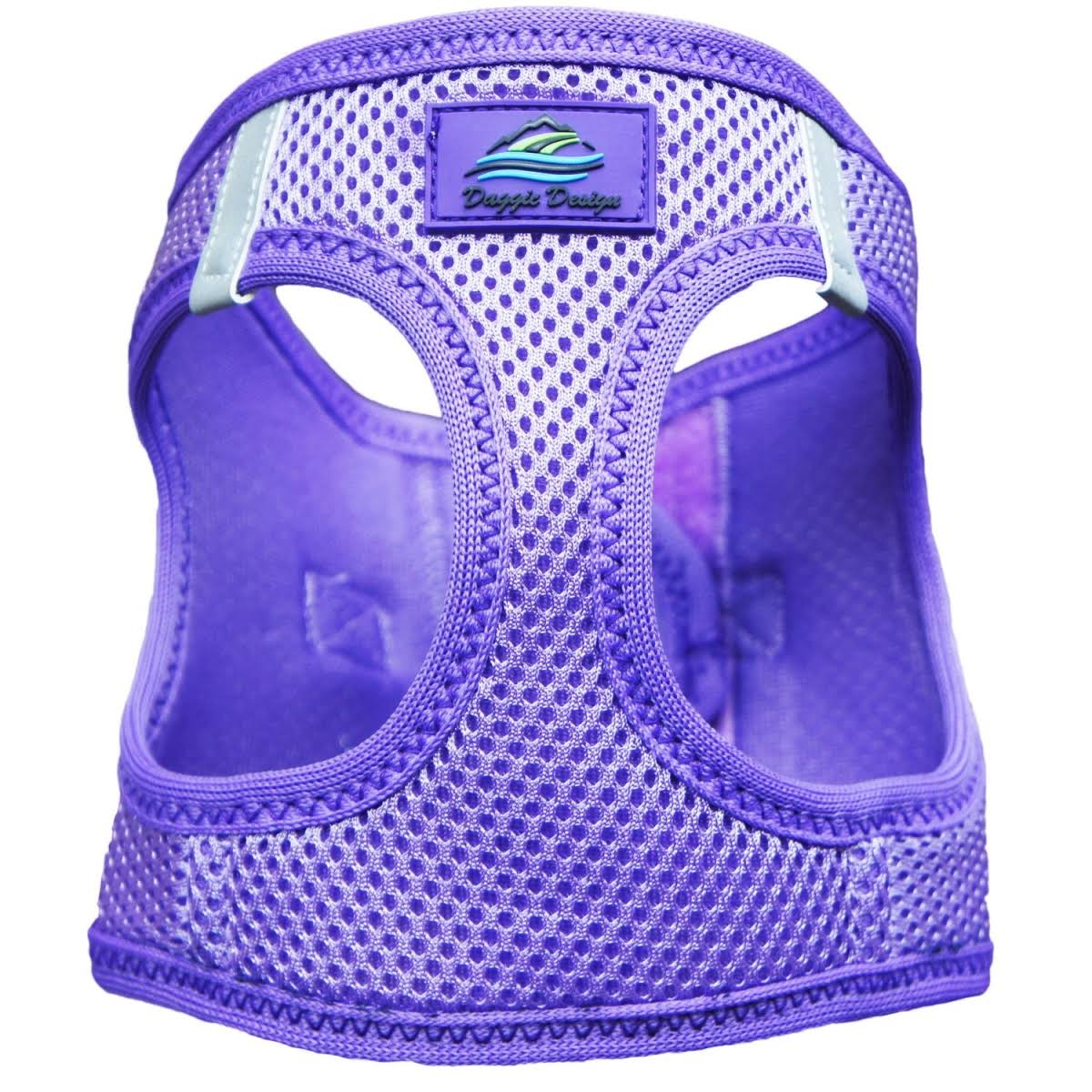 American River Ultra Choke-Free Mesh Dog Harness - Purple