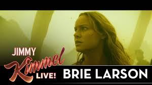 Marlon Wayans Halloween Kick by Brie Larson On Shooting Kong Skull Island Youtube