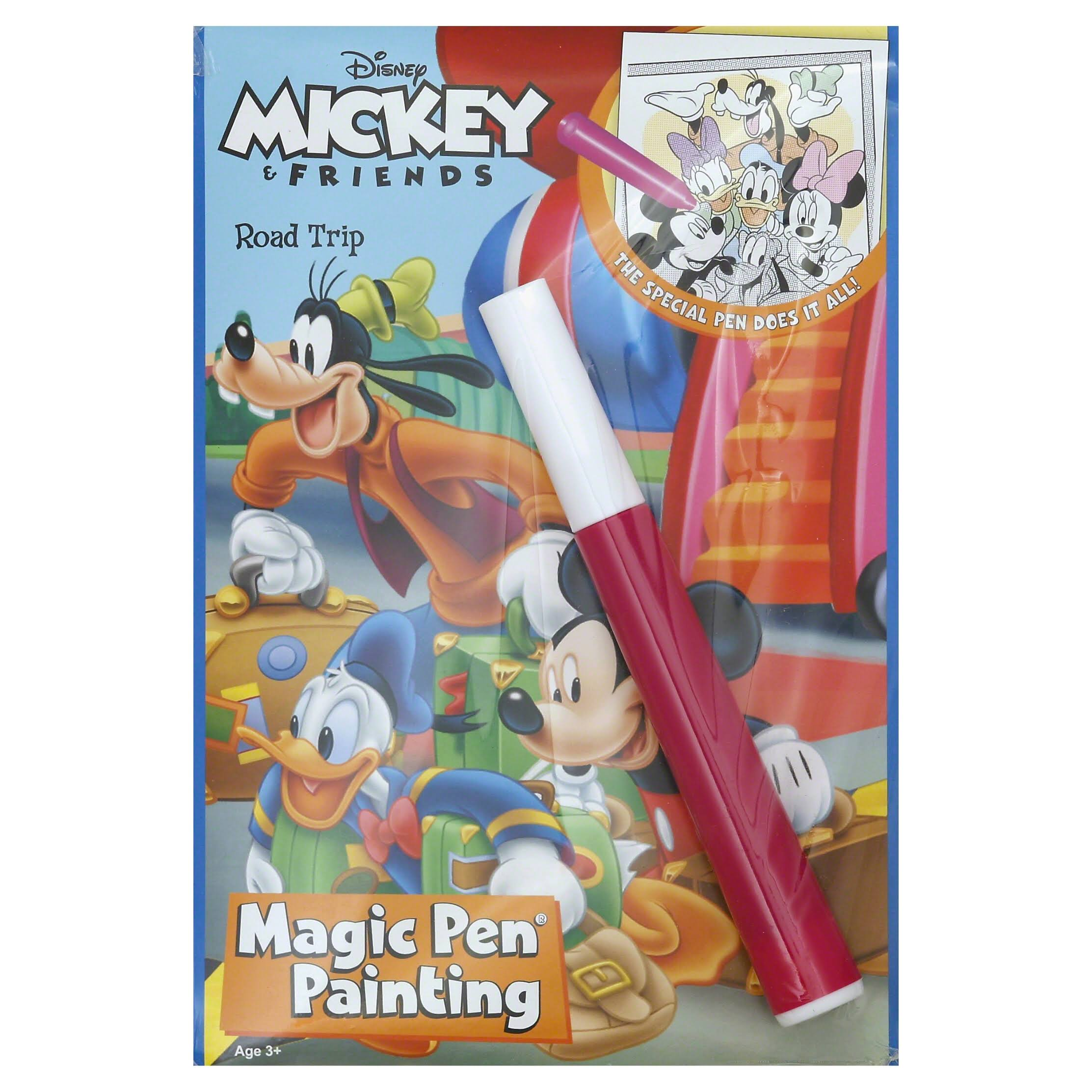 Disney Road Trip Mickey Mouse Magic Pen Painting Book