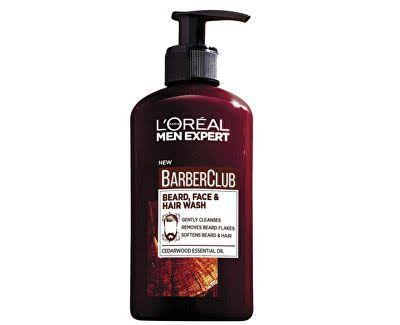 L'Oreal Men Expert Barber Club Beard Face and Hair Wash - 200ml