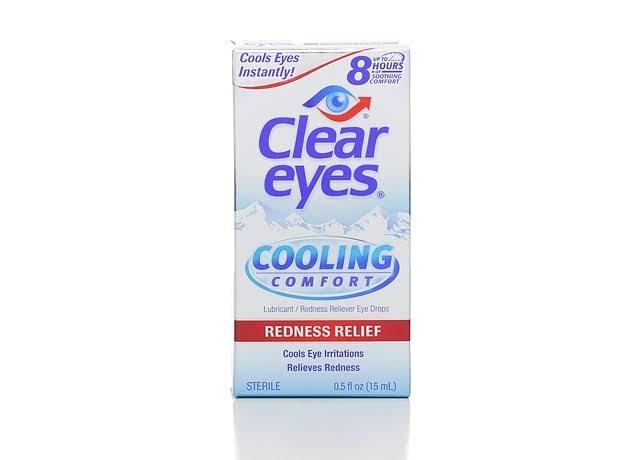 Cooling Comfort Redness Relief Eye Drops - 15ml
