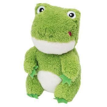 ZippyPaws Cheeky Chumz Frog Plush Dog Toy
