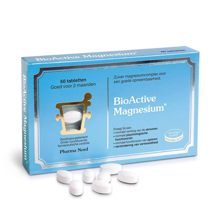 Pharma Nord Bio Active Magnesium Food Supplement - 60 Tablets