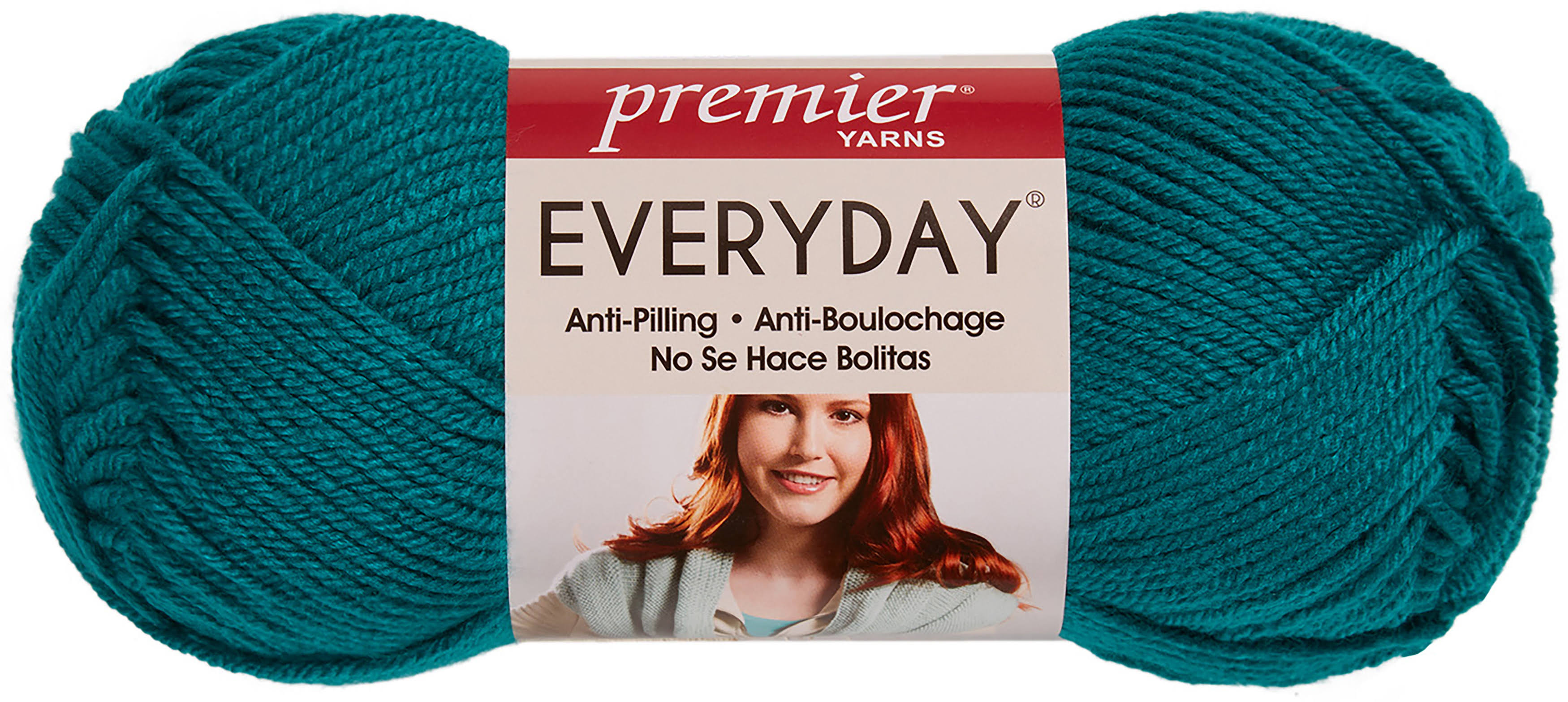Deborah Norville Collection Everyday Solid Yarn - Peacock