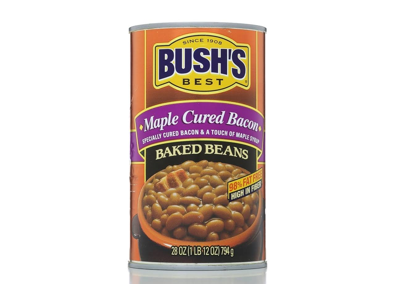 Bushs Best Baked Beans - Maple Cured Bacon, 28oz