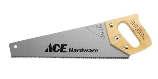 Ace Wood Handle Hand Saw - 15in