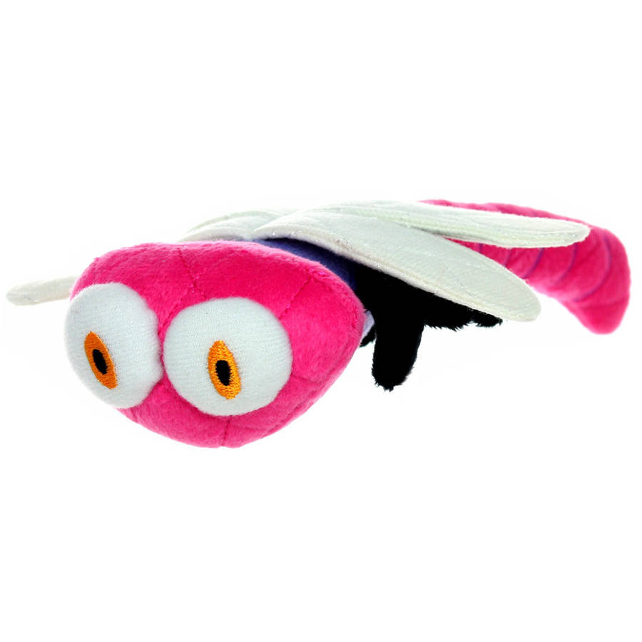 Mighty Jr. Dragon Fly Bug Dog Toy - Pink