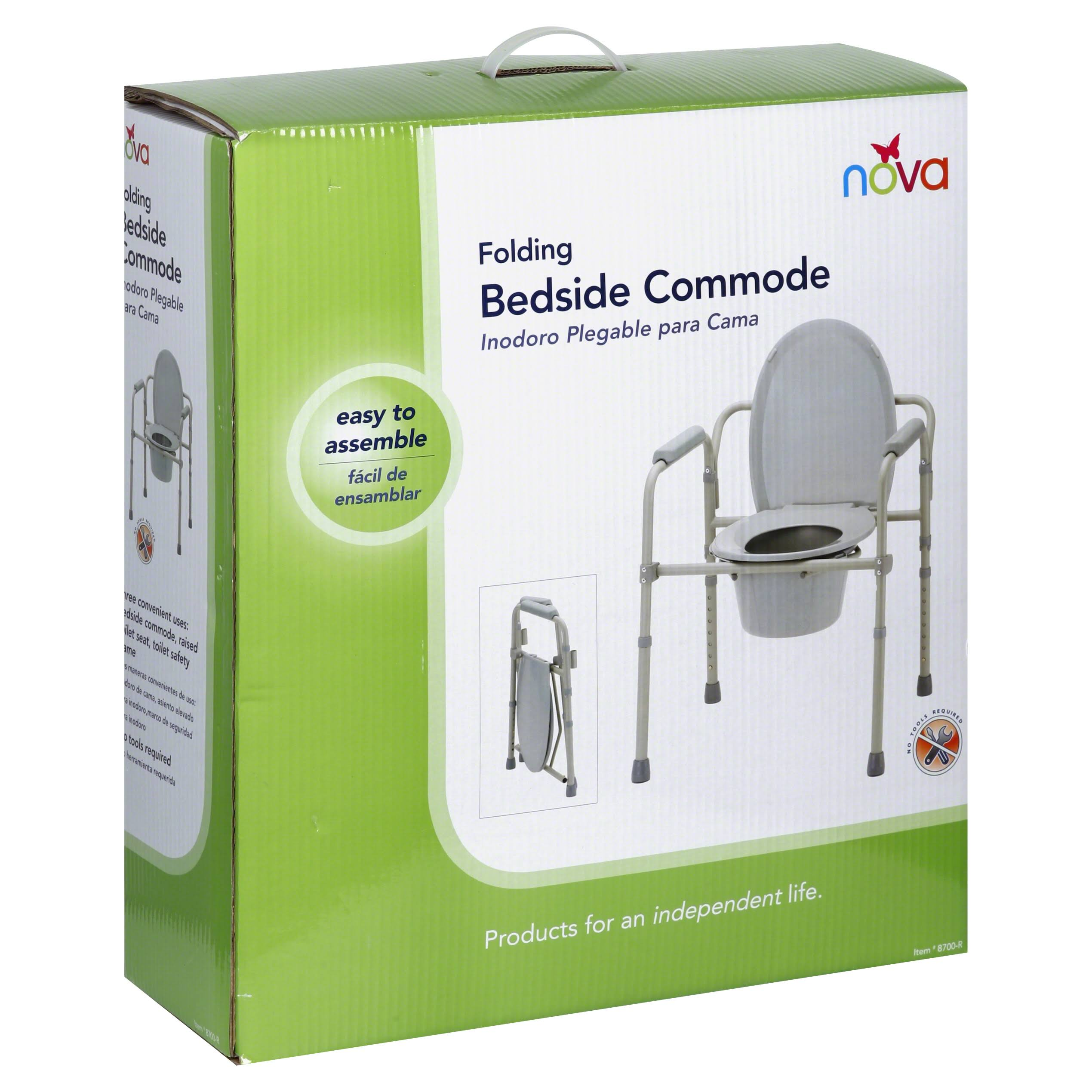 Nova Medical Products 8700r Folding Commode