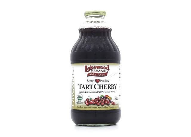 Lakewood 100% Juice, Organic, Tart Cherry Blend - 32 fl oz