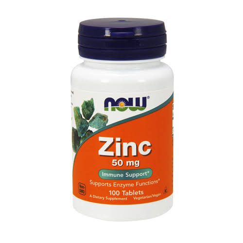 Now Foods Zinc Supplement - 100 Tablets