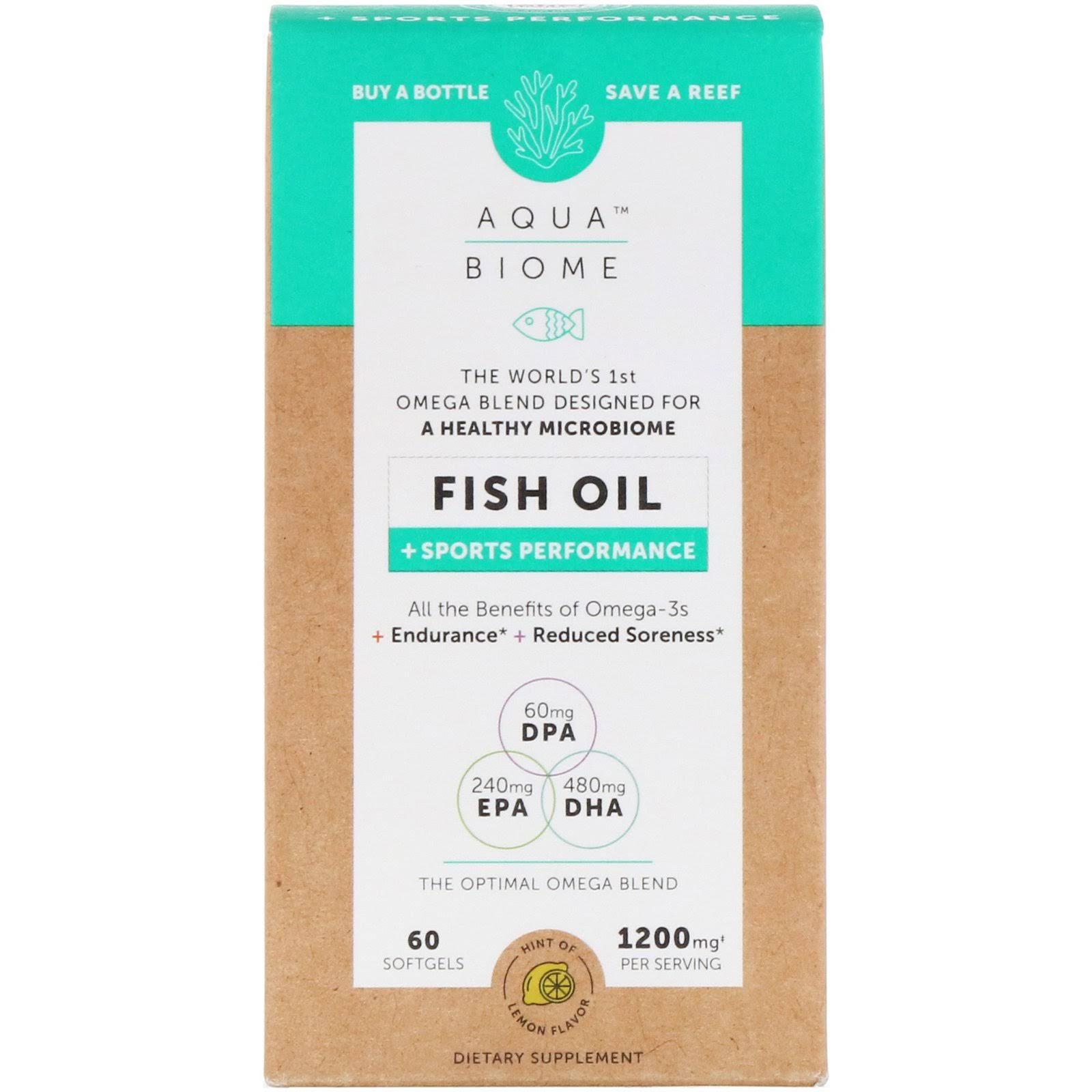 Aqua Biome Fish Oil Sports Performance