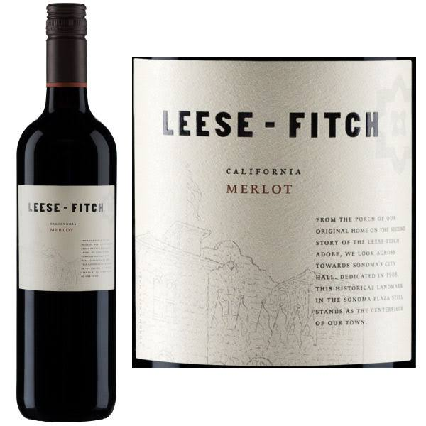 Leese-Fitch Merlot Wine - 750ml