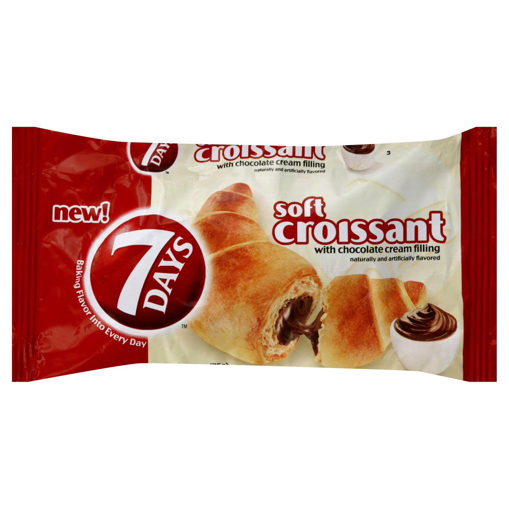 7 Days Soft Croissant - Chocolate Cream Filling