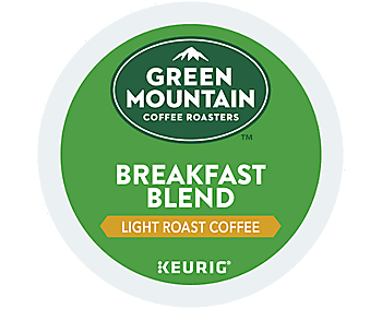 Green Mountain Breakfast Blend Coffee K-Cups - 24 Pack