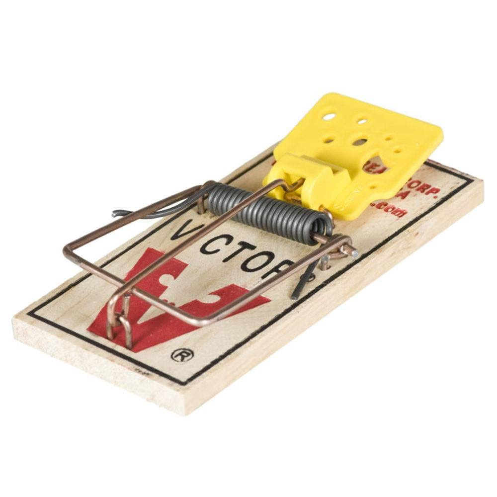 Woodstream Victor Easy Set Mouse Traps - x2