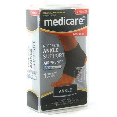 Medicare Sport Neoprene Adjustable Ankle Support
