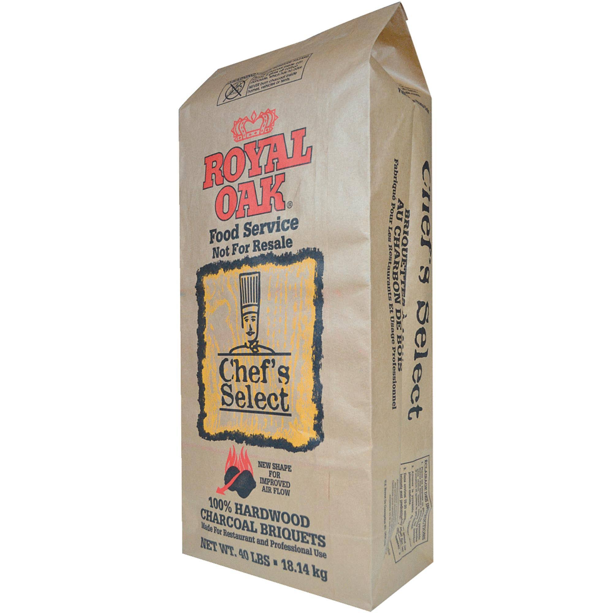 Royal Oak Chef's Select Hardwood Charcoal Briquettes