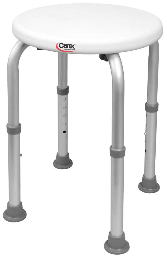 Carex Health Brands Compact Shower Stool