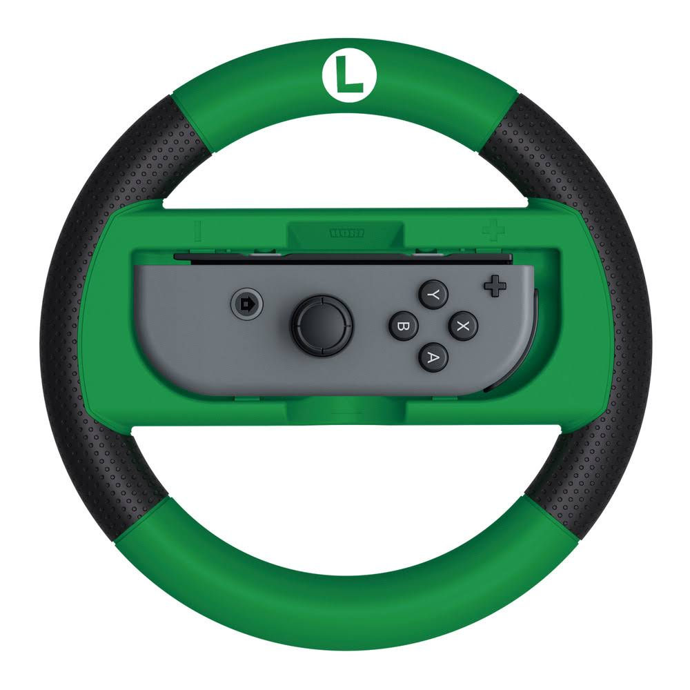 Hori MK8 Deluxe Racing Wheel Luigi Nintendo Switch