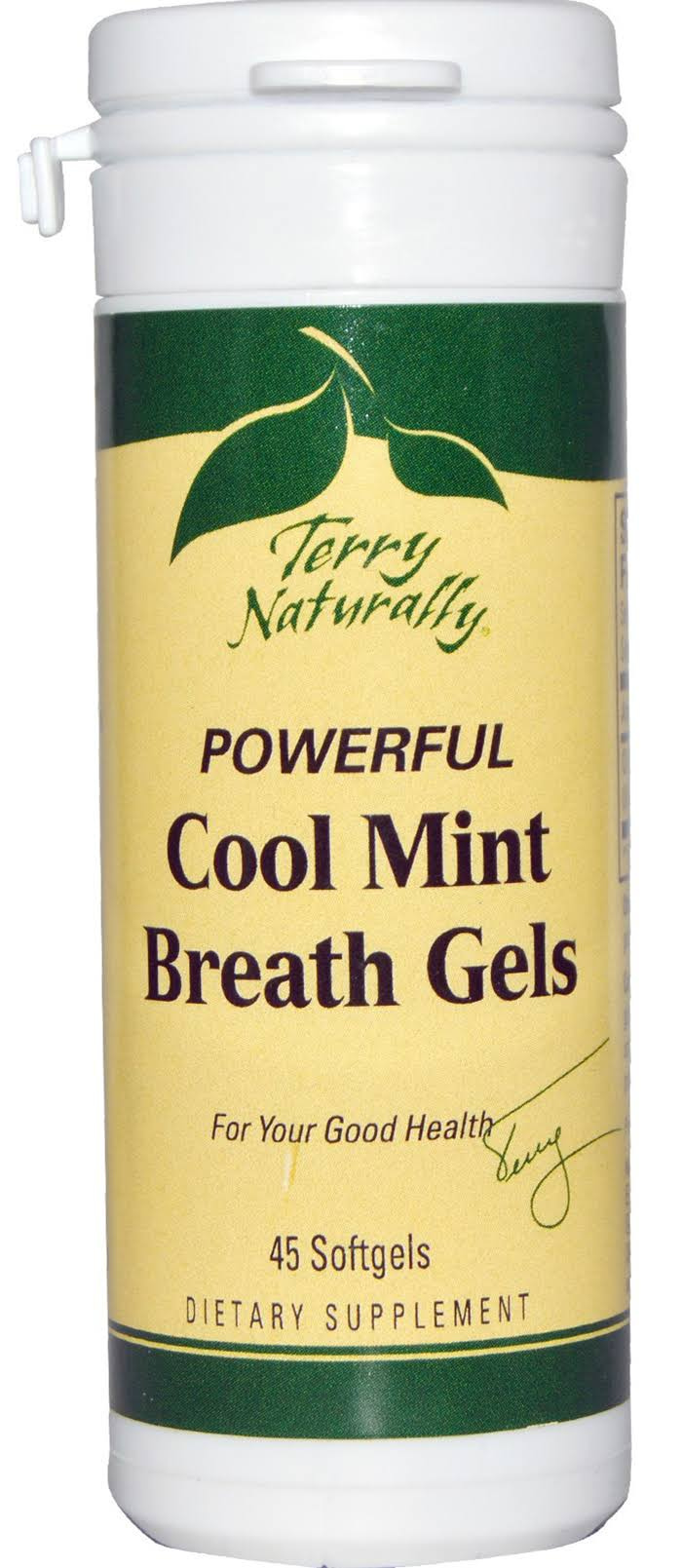 EuroPharma Terry Naturally Powerful Cool Mint Breath Gels