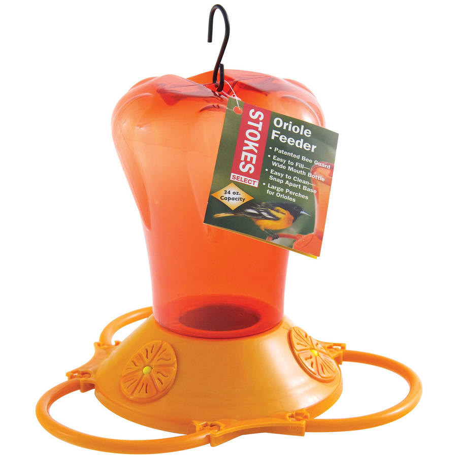 Stokes Select Oriole Bird Feeder - Orange
