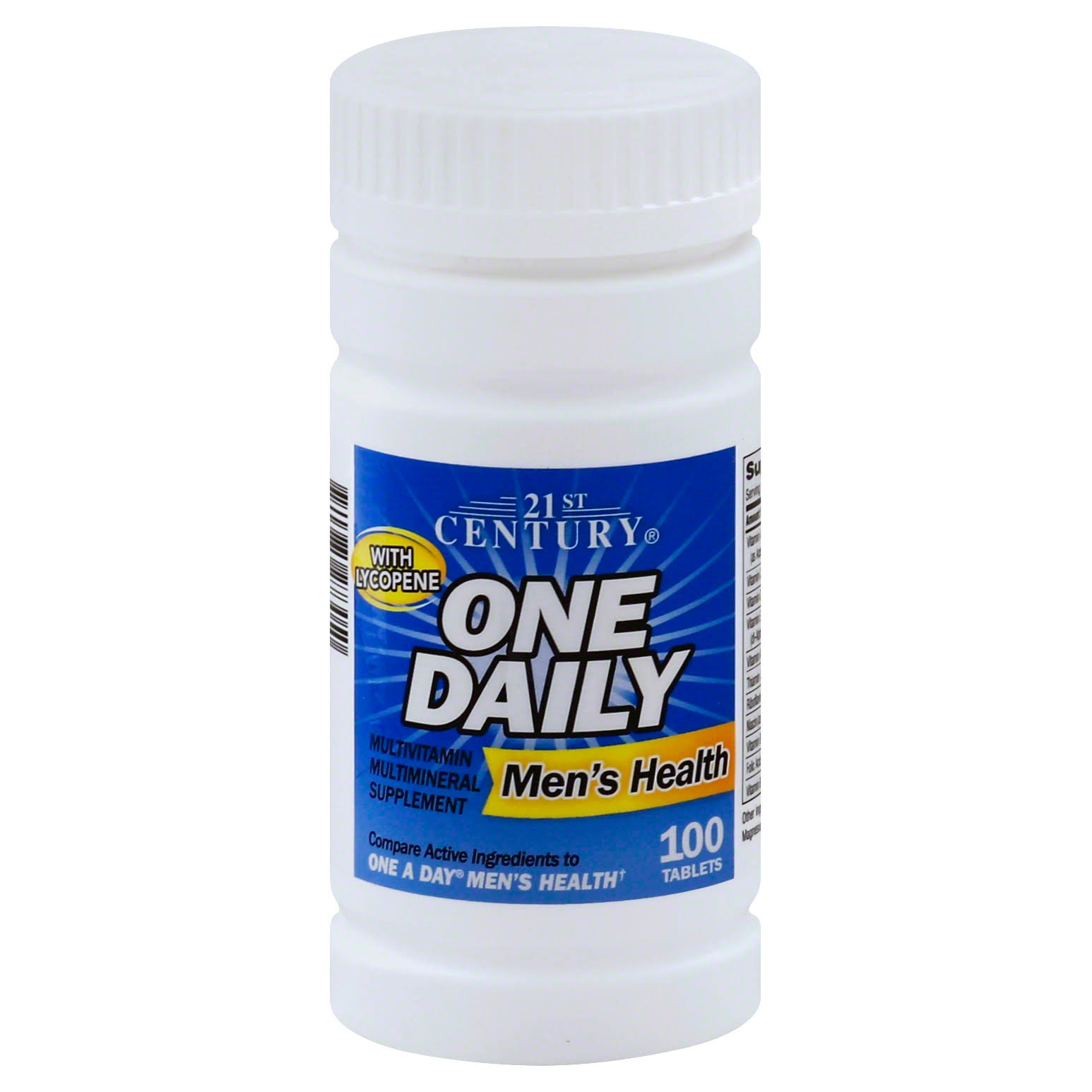 21st Century One Daily Men's Health Tablets - 100ct, Pack of 2