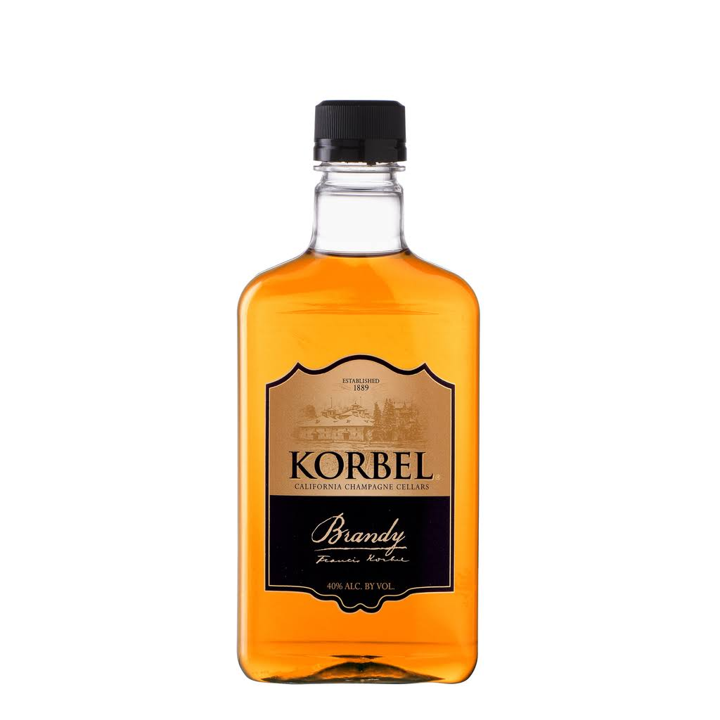 Korbel California Brandy, 375 ml, 80 Proof, Size: 375ml