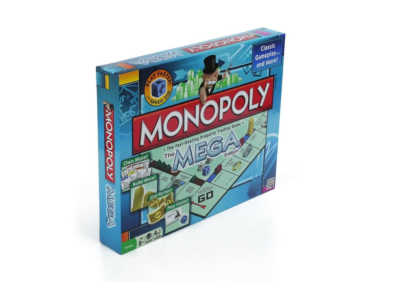 Winning Moves Monopoly The Mega Edition Board Game