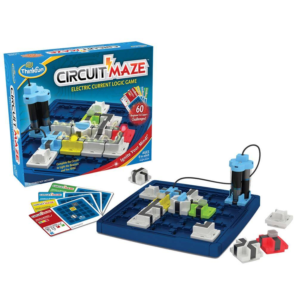 Think Fun Circuit Maze Logic Game Toy