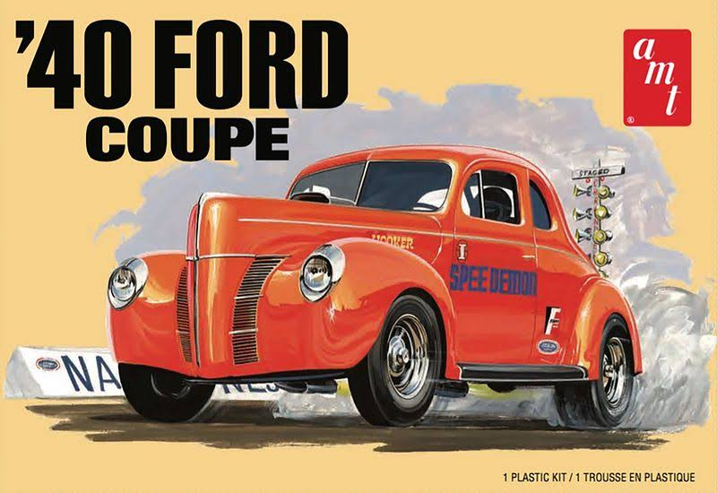 "AMT 1940 Ford Coupe ""Trophy Series"" kit"