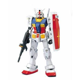 Bandai Hobby RX-78-2 Gundam Mobile Suit Perfect Grade Action Figure - 1/60 Scale