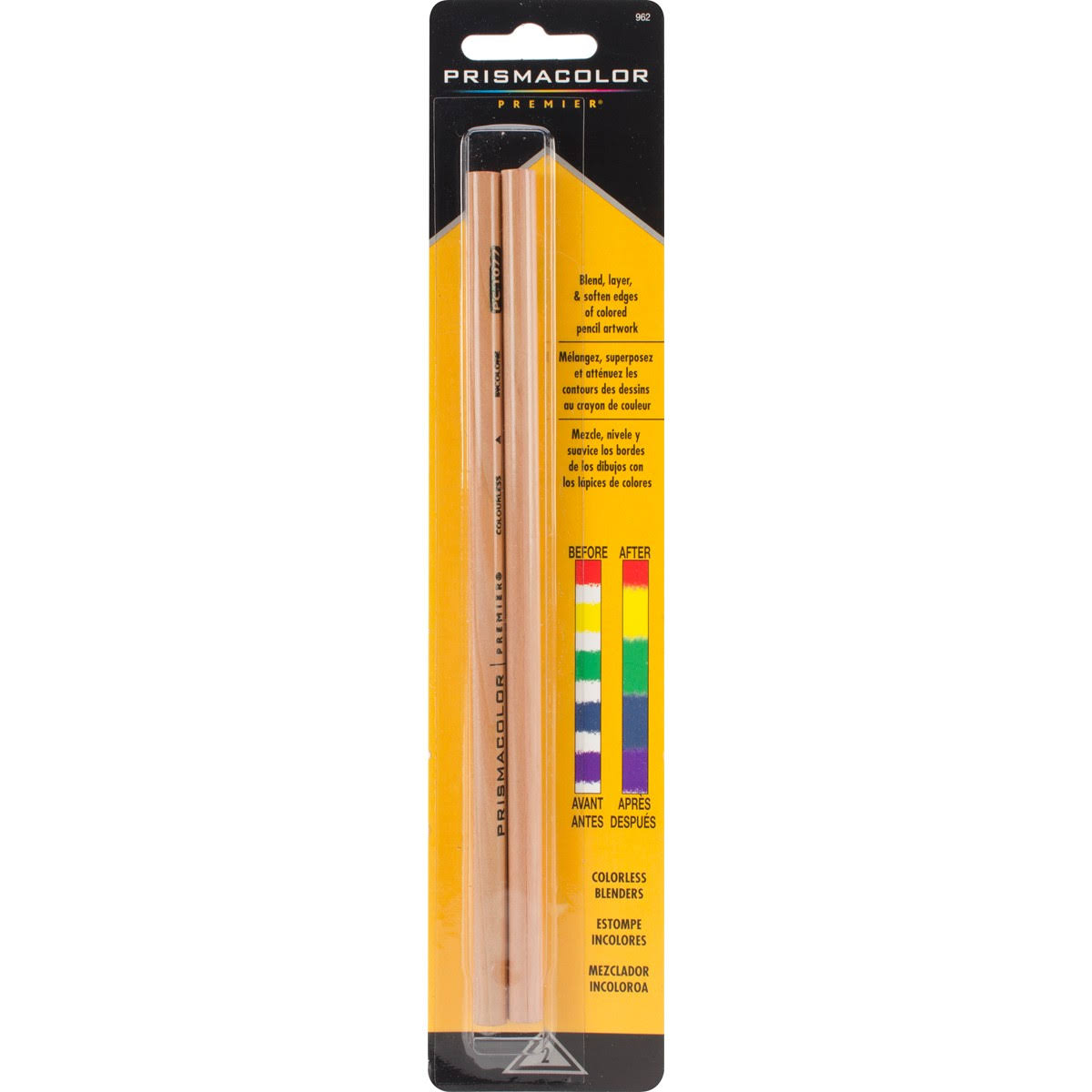 Prismacolor Premier Colorless Blender Pencils - 2pcs