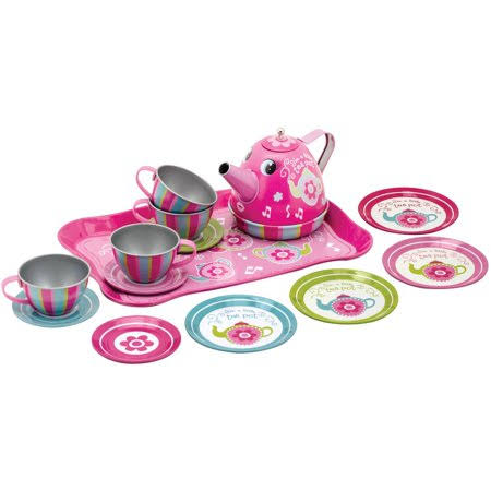 Schylling Toys Musical Tin Tea Play Set