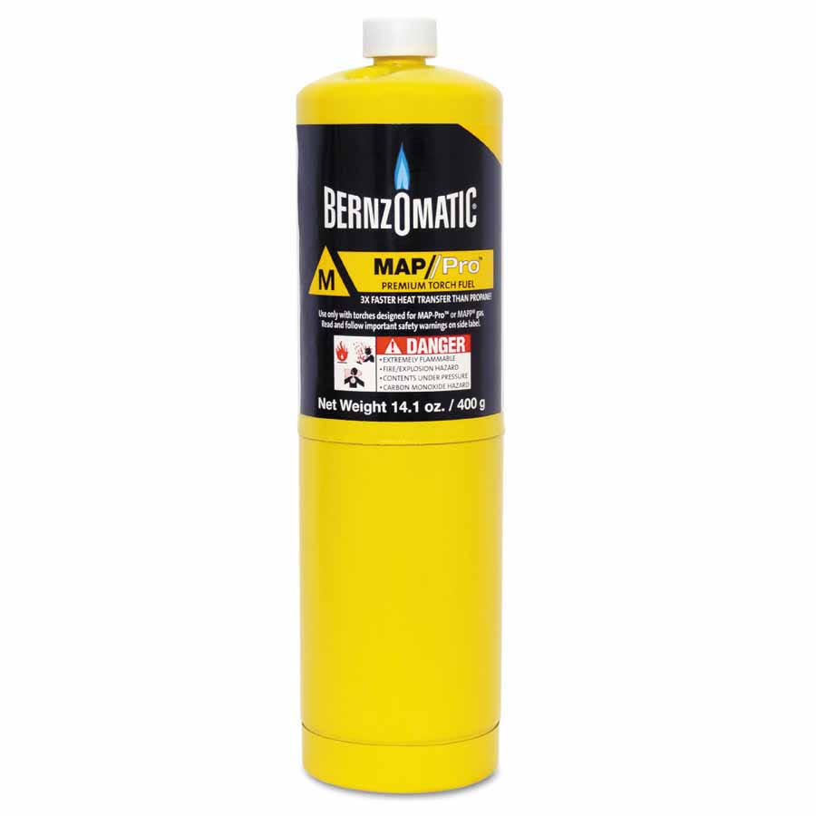 Worthington Cylinder Map Pro Gas Cylinder - Yellow, 399.7g