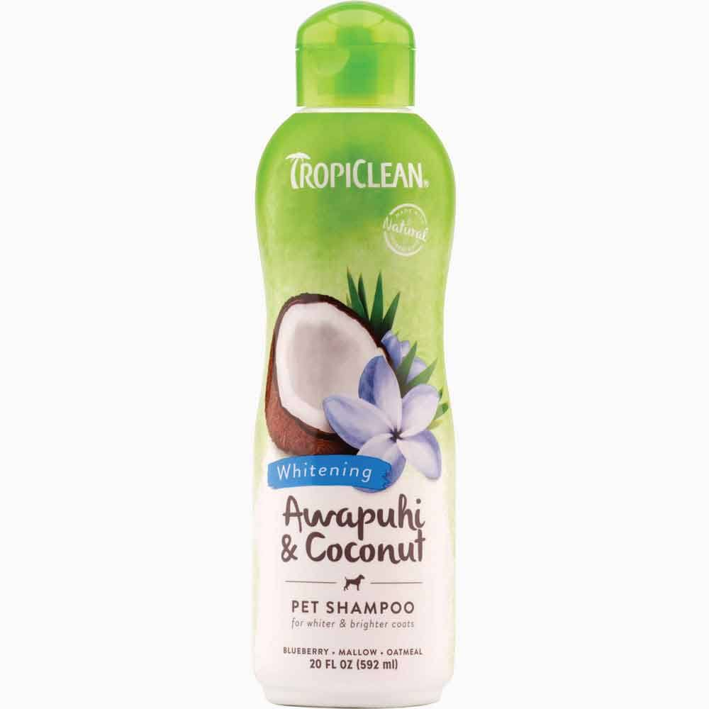 Tropiclean White Coat Soap Free Natural Pet Shampoo