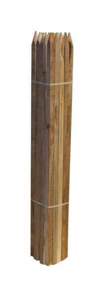 HorseLoverZ Hardwood Stakes - 4'x3/4""
