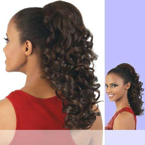 Motown Tress (PD-04HT) - Heat Resistant Fiber Ponytail in F4_30