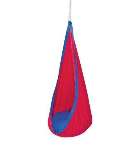 Hearthsong Hugglepod Indoor & Outdoor Canvas Hanging Chair