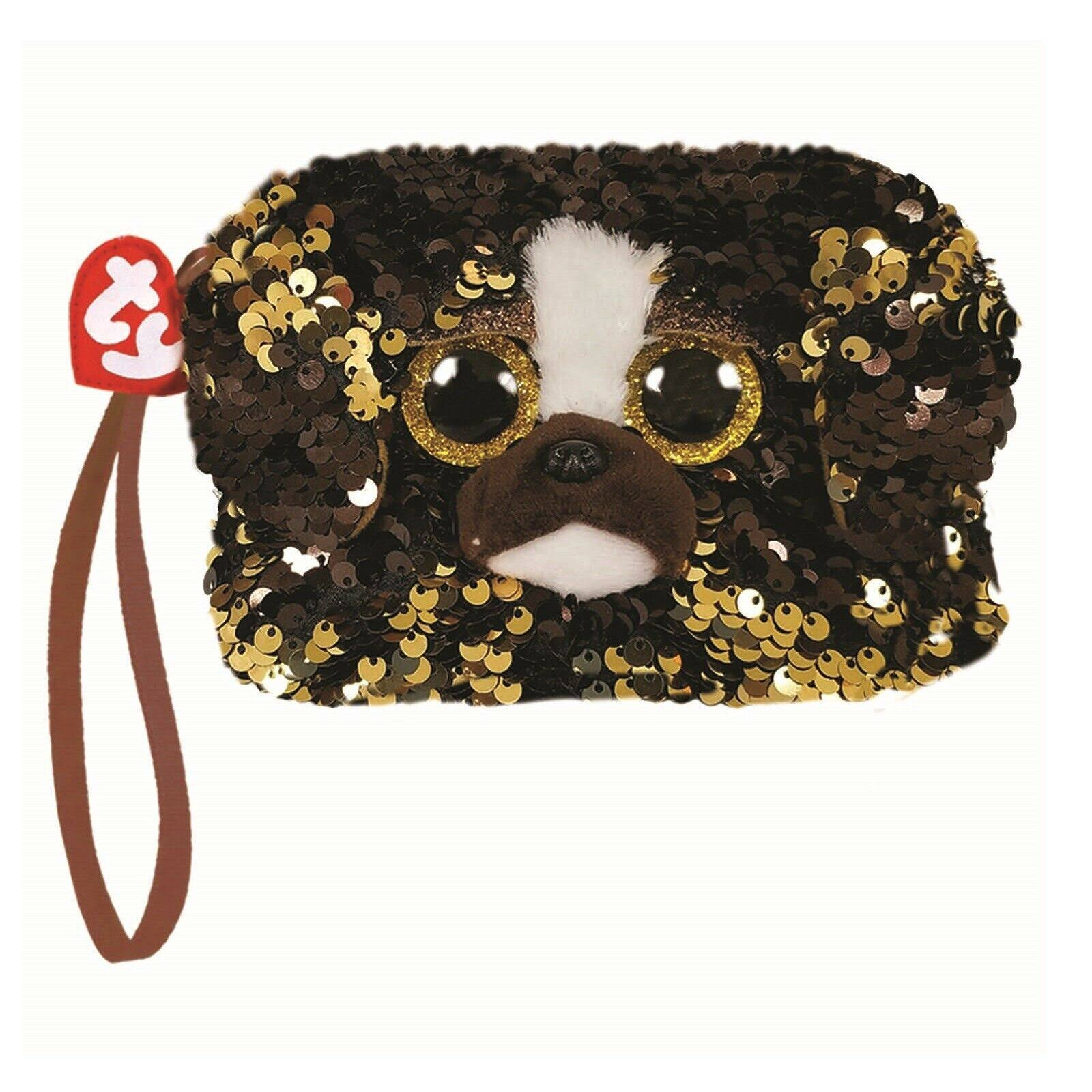 Ty Fashion Flippy Sequin Wristlet - Brutus The Dog (5 inch)