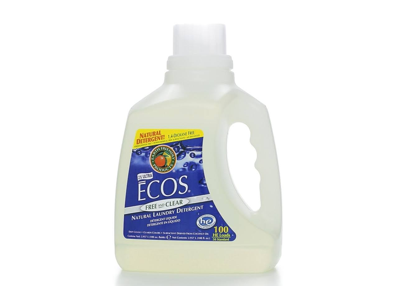 Earth Friendly Ecos Natural Laundry Detergent - 100oz