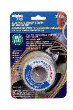 Alpha Electrical Rosin Core Solder - 3oz